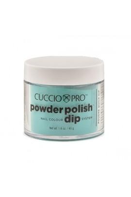 Cuccio Pro - Powder Polish Dip System - Jade Green - 1.6 oz / 45 g