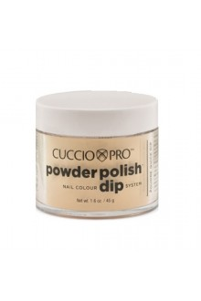 Cuccio Pro - Powder Polish Dip System - Metallic Lemon Gold - 1.6 oz / 45 g