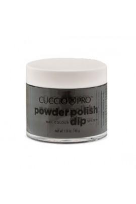 Cuccio Pro - Powder Polish Dip System - Midnight Black - 1.6 oz / 45 g