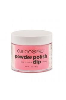 Cuccio Pro - Powder Polish Dip System - Passionate Pink - 1.6 oz / 45 g