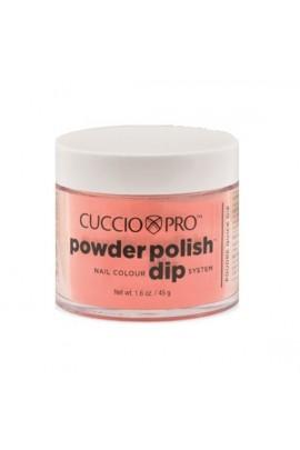 Cuccio Pro - Powder Polish Dip System - Peach - 1.6 oz / 45 g