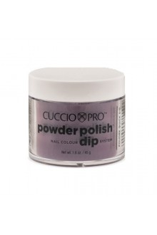 Cuccio Pro - Powder Polish Dip System - Plum w/ Black Undertones - 1.6 oz / 45 g