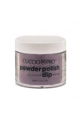 Cuccio Pro - Powder Polish Dip System - Plum w/ Black Undertones - 1.6 oz / 45 g