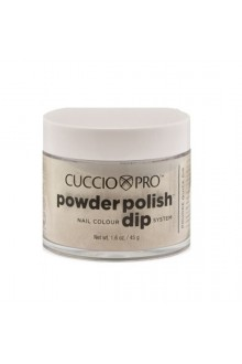 Cuccio Pro - Powder Polish Dip System - Rich Gold Glitter - 1.6 oz / 45 g