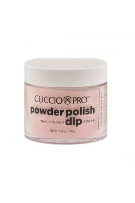 Cuccio Pro - Powder Polish Dip System - Rose Petal Pink - 1.6 oz / 45 g
