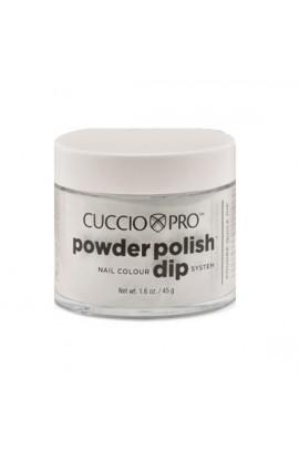 Cuccio Pro - Powder Polish Dip System - Silver Glitter - 1.6 oz / 45 g