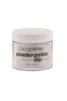 Cuccio Pro - Powder Polish Dip System - Silver w/ Rainbow Mica - 1.6 oz / 45 g