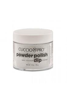 Cuccio Pro - Powder Polish Dip System - Silver w/ Silver Glitter - 1.6 oz / 45 g