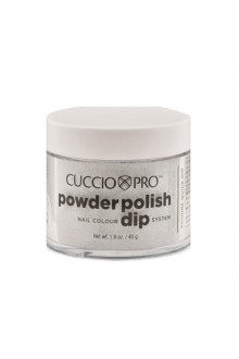 Cuccio Pro - Powder Polish Dip System - Silver w/ Silver Mica - 1.6 oz / 45 g