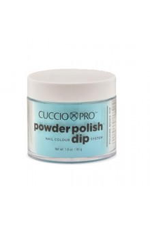 Cuccio Pro - Powder Polish Dip System - Sky Blue - 1.6 oz / 45 g