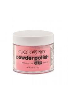Cuccio Pro - Powder Polish Dip System - Watermelon Pink w/ Pink Mica - 1.6 oz / 45 g