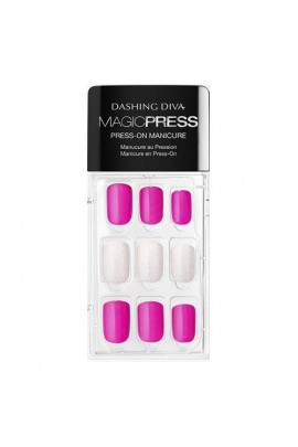 Dashing Diva - Magic Press - Press-On Manicure - Above the Beyond - 30 Pieces