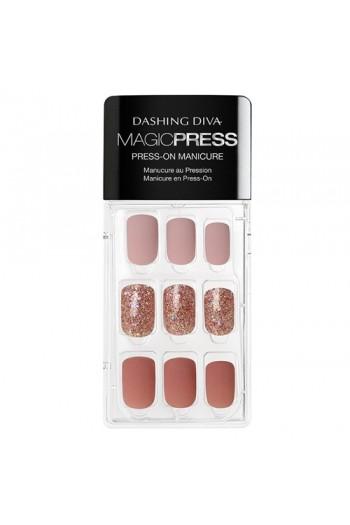 Dashing Diva - Magic Press - Press-On Manicure - All That Glitters - 30 Pieces