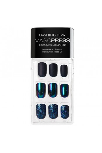 Dashing Diva - Magic Press - Press-On Manicure - Celestial Being - 30 Pieces