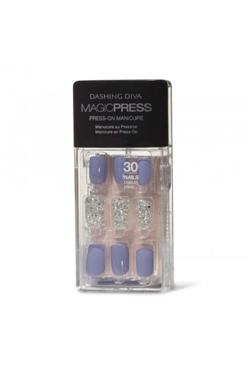 Dashing Diva - Magic Press - Press-On Manicure - Executive Suite - 30 Pieces