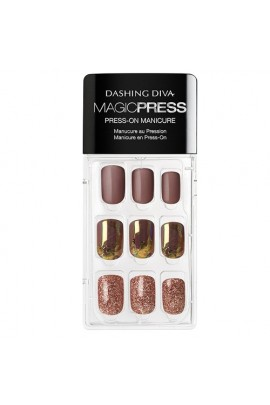 Dashing Diva - Magic Press - Press-On Manicure - Leader of the Pack - 30 Pieces