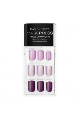 Dashing Diva - Magic Press - Press-On Manicure - Northern Light - 30 Pieces