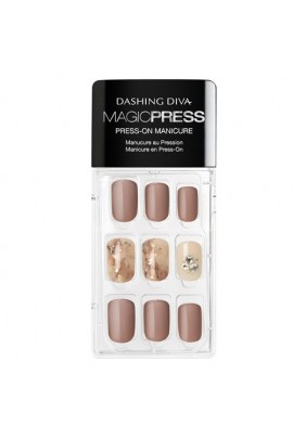 Dashing Diva - Magic Press - Press-On Manicure - Power Broker - 30 Pieces