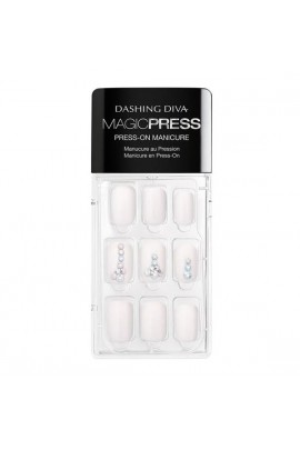 Dashing Diva - Magic Press - Press-On Manicure - Romancing the Stone - 30 Pieces