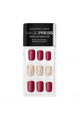 Dashing Diva - Magic Press - Press-On Manicure - Some Like it Hot - 30 Pieces