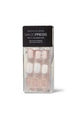 Dashing Diva - Magic Press - Press-On Manicure - Sugar Coated - 30 Pieces
