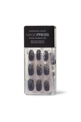 Dashing Diva - Magic Press - Press-On Manicure - The Starlight - 30 Pieces
