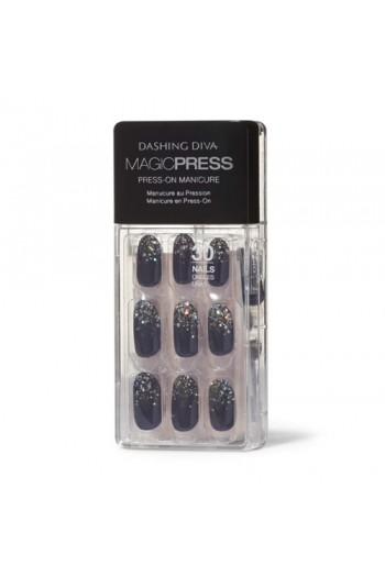 Dashing Diva - Magic Press - Press-On Manicure - The Starlight - 30 Pieces