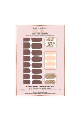 Dashing Diva - Gloss Ultra Shine Gel Strips - Avant Garde - 34 Strips