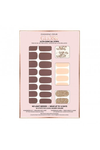Dashing Diva - Gloss Ultra Shine Gel Strips - Avant Garde - 34 Strips
