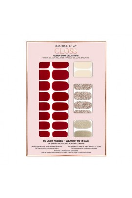 Dashing Diva - Gloss Ultra Shine Gel Strips - Bossy Lady - 34 Strips