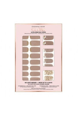 Dashing Diva - Gloss Ultra Shine Gel Strips - Down to Earth - 34 Strips
