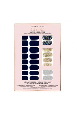Dashing Diva - Gloss Ultra Shine Gel Strips - Lapis Lazuli - 34 Strips