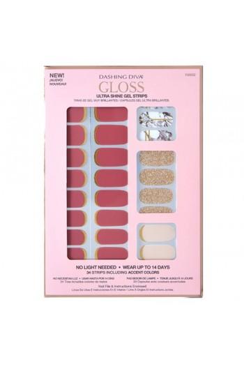 Dashing Diva - Gloss Ultra Shine Gel Strips - Modern Matter - 34 Strips