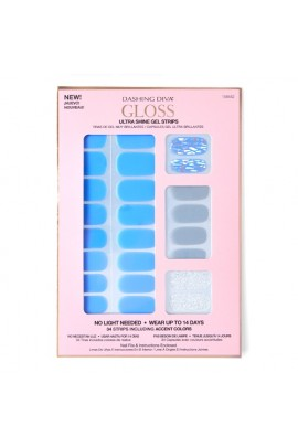 Dashing Diva - Gloss Ultra Shine Gel Strips - Nirvana - 34 Strips