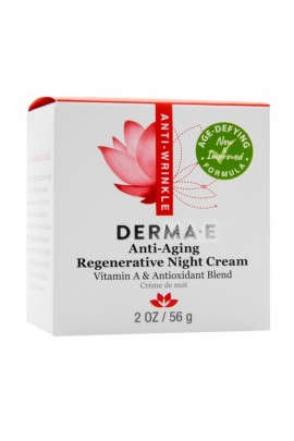 Derma E -  Regenerative Night Creme - 2oz / 56g