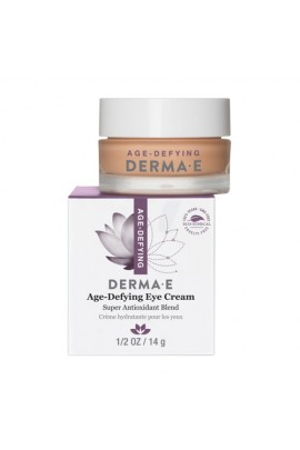 Derma E Beauty - Age-Defying Eye Cream - 0.5oz / 14g