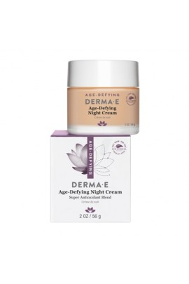 Derma E Beauty - Age-Defying Night Cream - 2oz / 56g