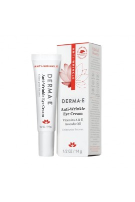 Derma E Beauty - Anti-Wrinkle Eye Cream - 0.5oz / 14g