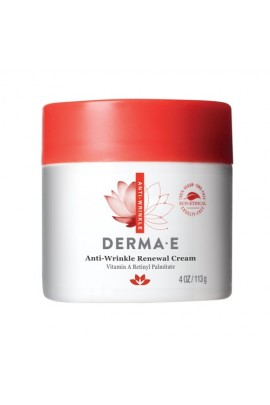 Derma E Beauty - Anti-Wrinkle Renewal Cream - 4oz / 113g