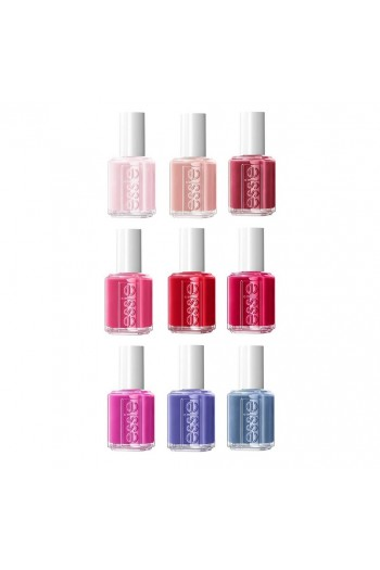 Essie Nail Lacquer - Not Redy For Bed Collection - All 9 Colors - 13.5ml / 0.46oz Each