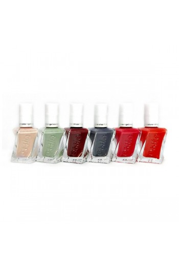 Essie Gel Couture - Opulent Opera Collection - All 6 Colors - 13.5ml / 0.46oz Each