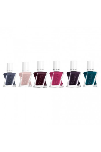 Essie Gel Couture - Brilliant Brocades Collection - All 6 Colors - 13.5ml / 0.46oz Each