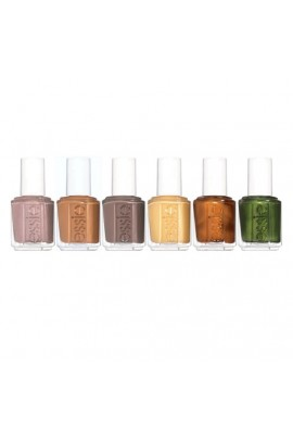 Essie Nail Lacquer - Country Retreat Collection 2019  - ALL 6 Colors - 13.5 mL / 0.46 oz