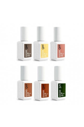 Essie Gel - LED Gel Polish - Country Retreat 2019 Collection - 12.5ml / 0.42oz Each - All 6 Colors