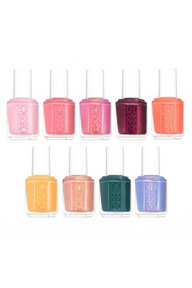 Essie Nail Lacquer - Flying Solo Spring 2020 Collection - All 9 Colors - 13.5ml / 0.46oz Each