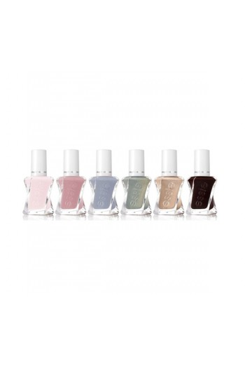 Essie Gel Couture - 2017 Enchanted Collection - All 6 Colors - 13.5ml / 0.46oz Each