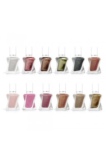 Essie Gel Couture - Timeless Tweeds Spring 2020 Collection - All 12 Colors - 13.5ml / 0.46oz Each