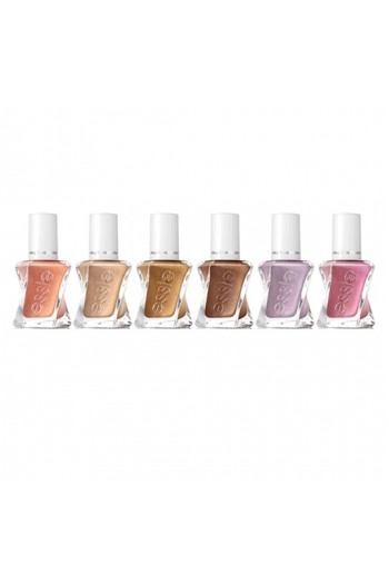 Essie Gel Couture - Sunrush Metal 2019 Collection - ALL 6 Colors - 13.5ml / 0.46oz Each