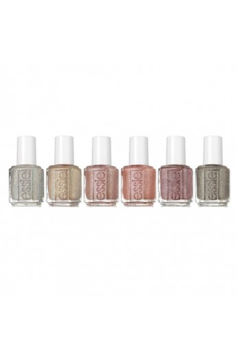 Essie Nail Lacquer - Gorge-ous Geodes 2019 Collection - All 6 Colors - 13.5ml / 0.46oz Each