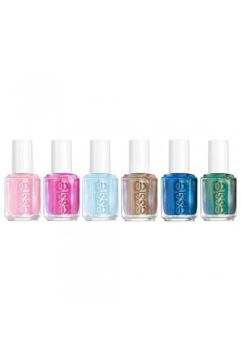 Essie Nail Lacquer - Let It Ripple Collection 2020 - All 6 Colors - 13.5ml / 0.46oz Each